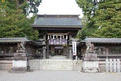 水口神社の本殿