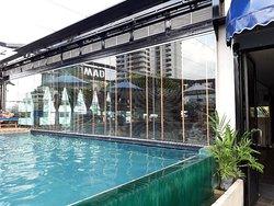 Buona struttura nel centro di bangkok