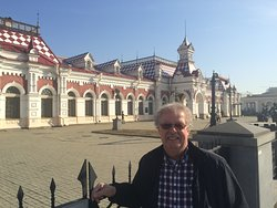 The old train station in Yekaterinburg (since 1878!)