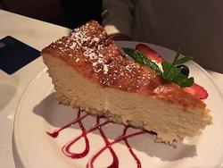 Ricotta-Crème Cheesecake