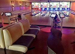 6 lanes VIP section....perfect for parties and events.