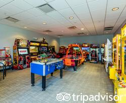 Game Room at the Avanti International Resort