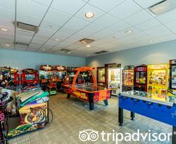 Game Room at the Avanti International Resort