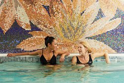 Ease sore muscles and discomfort in our Hydrotherapy Jacuzzi.