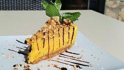 Restaurante italiano Cinquecento Valencia Cheesecake di zucca e amaretti