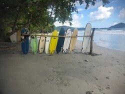 Surfing station