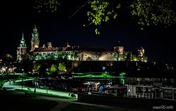 Castello di Wawel by night - il posto magico
