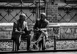 Panca dei matematici a Cracovia