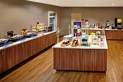Complimentary Full American Breakfast Buffet served daily