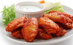 Chicken Wings served Mild, Medium, Hot or Spicy BBQ Wanna go Boneless?  We've got those too!