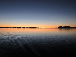 Strait of Magellan - sunset