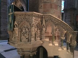 This Pulpit was insanely detailed; stunning craftsmanship.