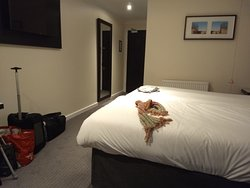 Standard twin room - comfortable and clean accommodation.  Newly refurbished so decent seating and beds with fresh linen