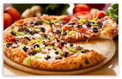 Hand made to order- mix and match your favorite toppings and create your perfect pie.