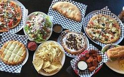Pizza, Wings, Cheesy Breadsticks, Pastas, Calzones, Smores' Pie & More!