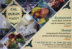 Restaurant Cal Duran