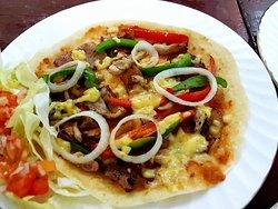 Tex-Mex Taco Pizza