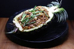Rice with Pineapple and Chicken