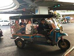 Tuk Tuk tour in Bangkok.