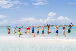 The most carefree local experience you will come to find. Just look at the waters. Oh my The Bahamas is the place to be.