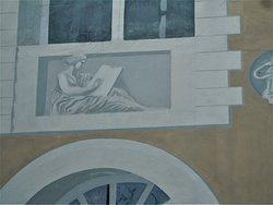 Détail de la fresque