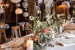 Intime Traum Hochzeit in Rosé Gold