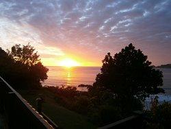 Sunrise at Anaura Bay
