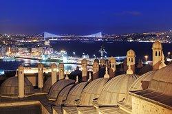 Istanbul over Suleymaniye Mosque