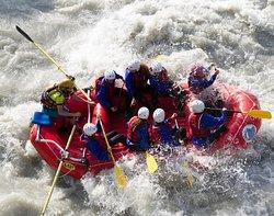 Rafting estremo in Valle D'Aosta