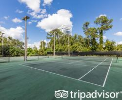 Tennis at the Wyndham Lake Buena Vista