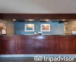 Front Desk at the Ramada by Wyndham Boston