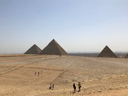 The great Pyramids of Giza. Take your time and don't rush!