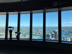 View inside the observation deck