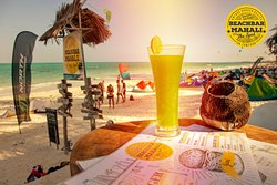 Beachbar Mahali cocktail