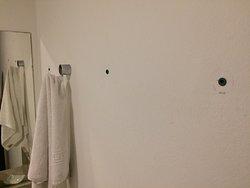 toalheiro quebrado