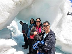 They thoroughly enjoyed their trip to the Franz Joseph Glacier while touring the South Island of New Zealand with me,