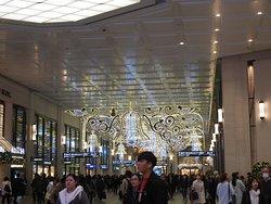 阪急通路のイルミネーション