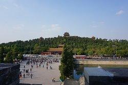vista para o Parque Jingshan