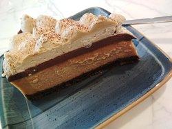 Espresso mocha cheesecake