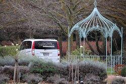 Parked at the Marlborough Lodge