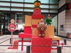 LINE聖誕公仔