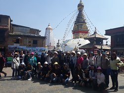 Syambhunath in kathmandu,  sightseeing in Kathmandu, tour guide in nepal, tour guide in kathmandu nepal -Tulasi Ram Paudel