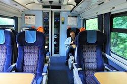 first class車内