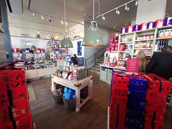 Carluccio's Shop with Christmas 2018 gifts