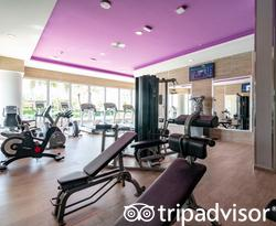 Fitness Center at the Hotel Riu Palace Paradise Island