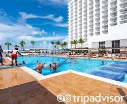 The Pool at the Hotel Riu Palace Paradise Island