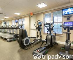 Fitness Center at the Hawks Cay Resort