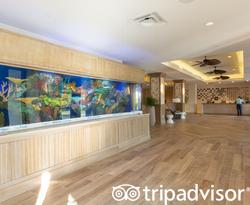 Lobby at the Hawks Cay Resort