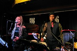 Beverley and Kevin performing