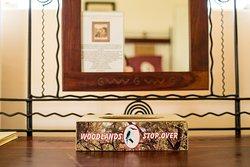Woodlands Cottage Tissue Box  Room decor